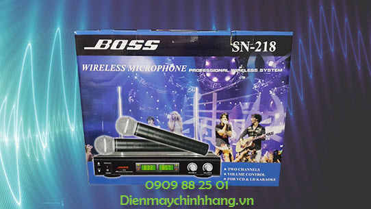 Microphone Boss SN-218